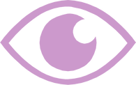 Eye icon to represent the observation of a group in VR